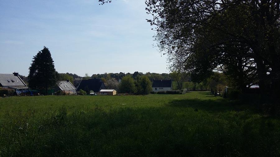 Terrain constructible à Kervignac en Bretagne